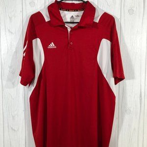 Adidas Scorch Climalite Polo Size Large